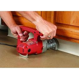 1 HP 3-3/8 in. Blade Toe-kick Saw  cut Flush up to a Wall or