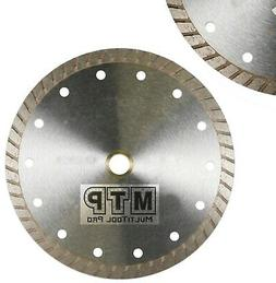 "10"" Inch Diamond Turbo Premium Saw Blade Granite  Concrete T"