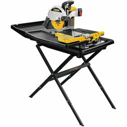 DEWALT 10-inch Wet Tile Saw with Stand