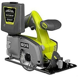 "RYOBI 18V ONE+ 4"" WET / DRY TILE SAW-Japan Brand - 2 Warrant"