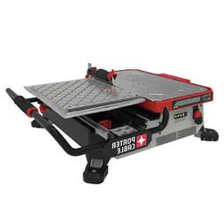 "20V MAX* 7"" Table Top Wet Tile Saw, Model  PCC780LA"