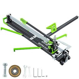 "31"" Manual Tile Cutter Laser Guide Cutting Machine 2.4""-6"" T"