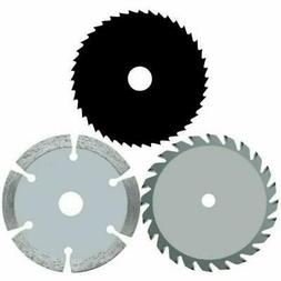 3x 3-3/8-inch Metal  Wood Tile Saw Blade for ROCKWELL VersaC