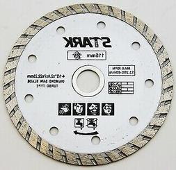 "4-1/2"" Turbo Cutting Diamond Saw Blade With 7/8 or 5/8 Inch"