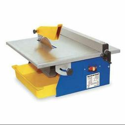 QEP 60089 Portable Tile Saw, Wet Cut, 7 In Blade