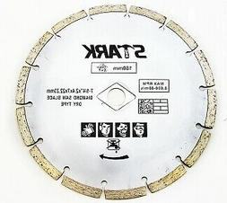"7-1/4""  Dry Cutting Diamond Saw Blade With 7/8 or 5/8 Inch A"