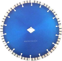 "7"" Diamond Blade Wet/Dry Turbo for Circular, or Wet Tile Saw"