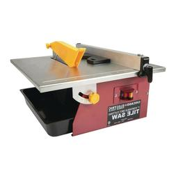 7 In. Portable Wet Cutting Tile Saw 69231 Chicago Electric P