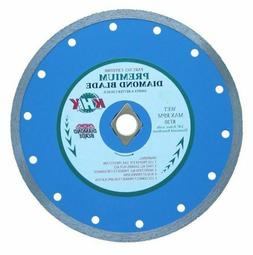 7-Inch Premium Continuous Diamond Blade Cutting Tile, Porcel