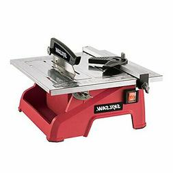 7-Inch Wet Tile Saw w/ Stainless Steel Table Top Supports Ti