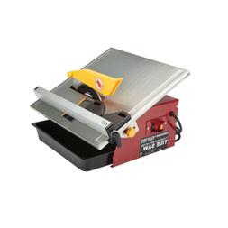 """7"""" Portable Wet Cut Tile Saw cuts material up to 12 in. wide"""