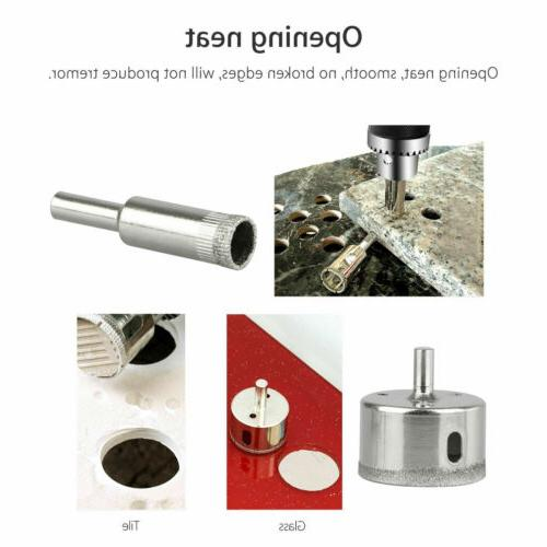10Pcs Drill for Porcelain Cutting