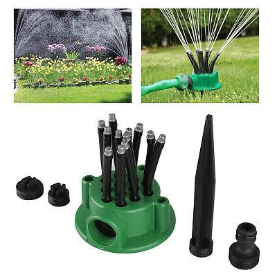 360° Adjustable Lawn Sprinkler Automatic Garden Plant Water
