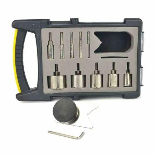 Large Diamond Hole Saw Drill Bit Guide Kit For Glass Tile Gr