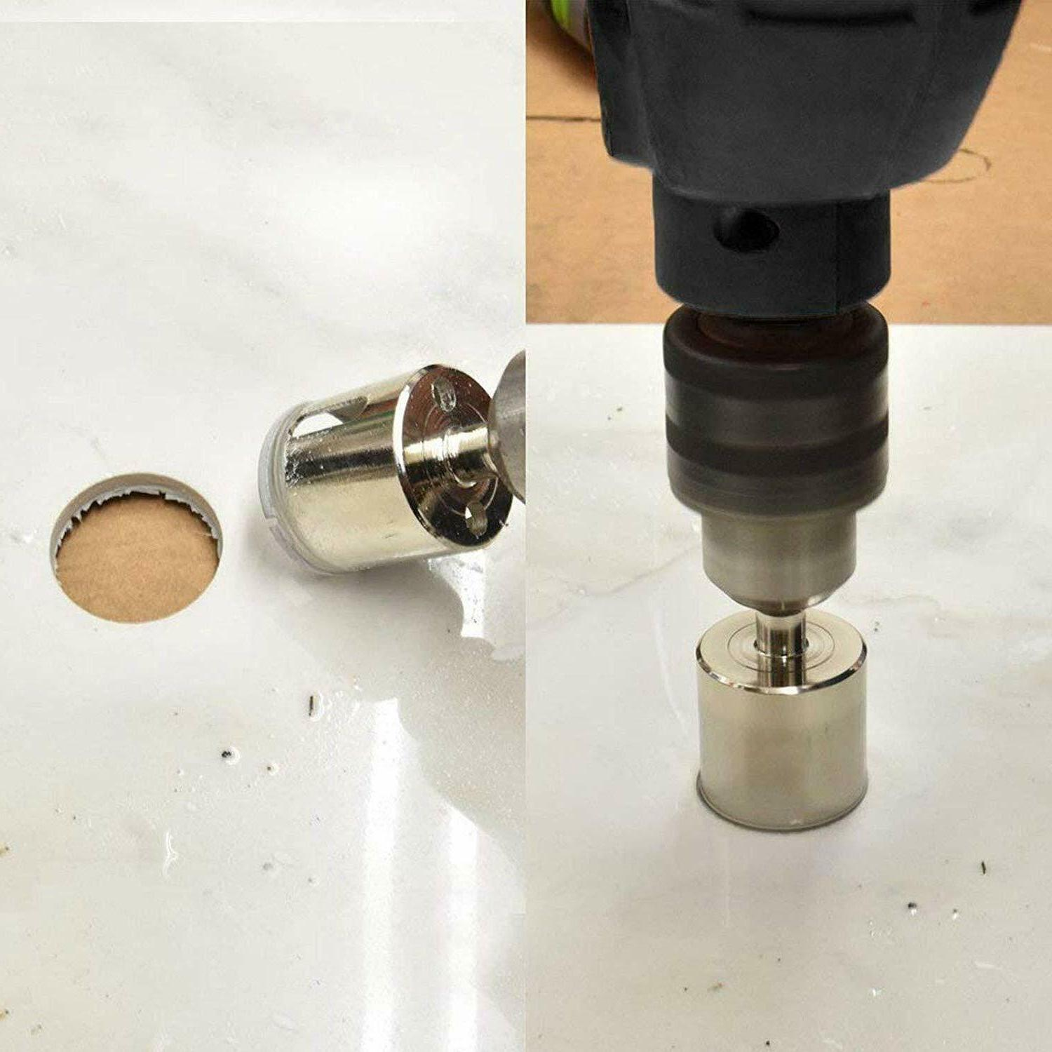 Diamond Hole Drill Bits Cutting Hole Maker Hollow Saw Tile Wood