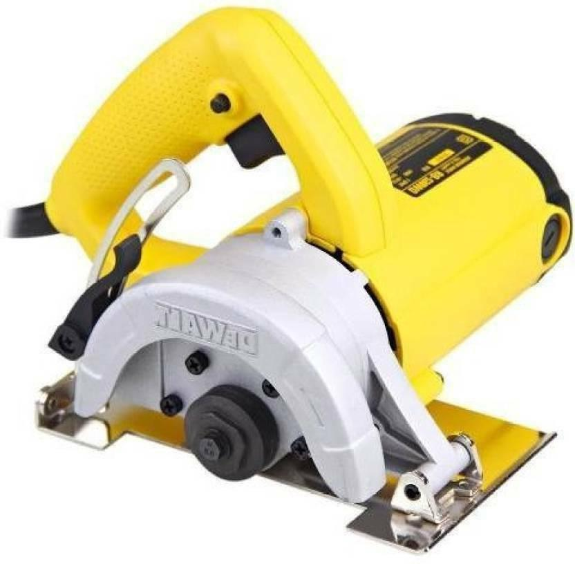 dw862 tile cutter 110mm 1270w with water