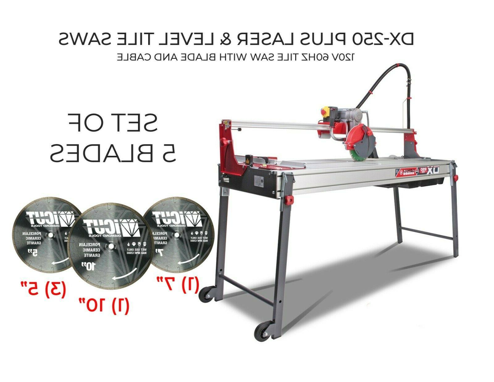 dx 250 plus laser and level tile
