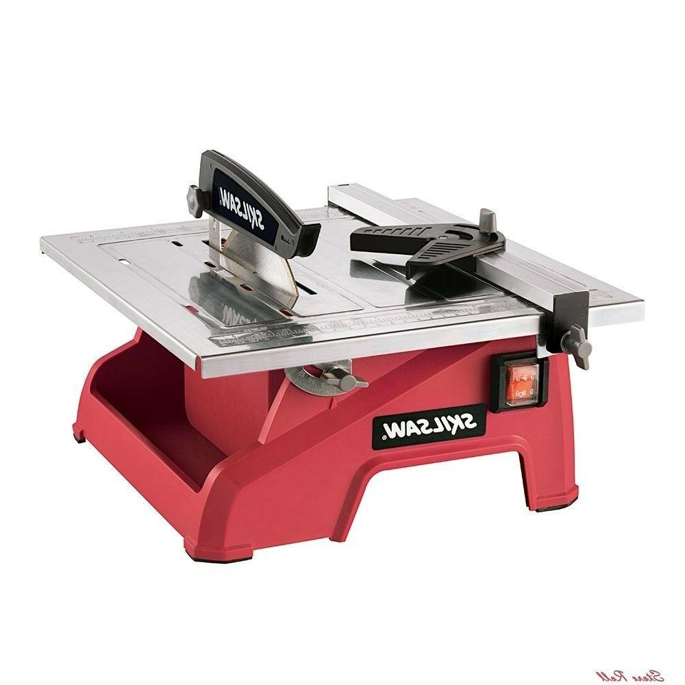 floor tile saw wet manual cutting blade