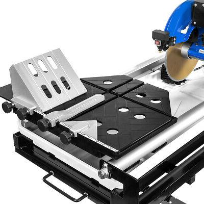 Industrial 2.5hp Motor Wet Saw Laser Guide with Folding