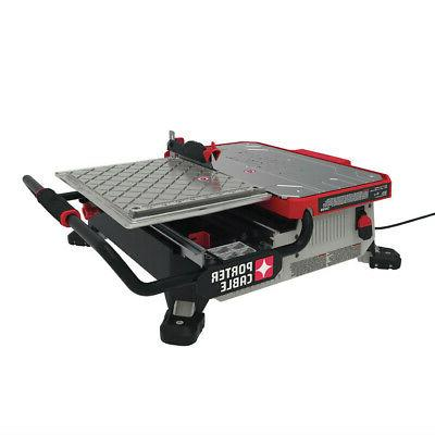 porter cable 7 in wet tile saw