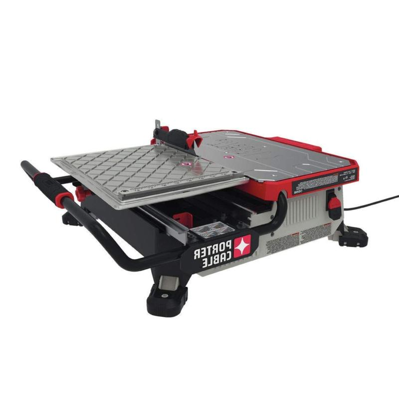 porter cable pce980 wet tile saw