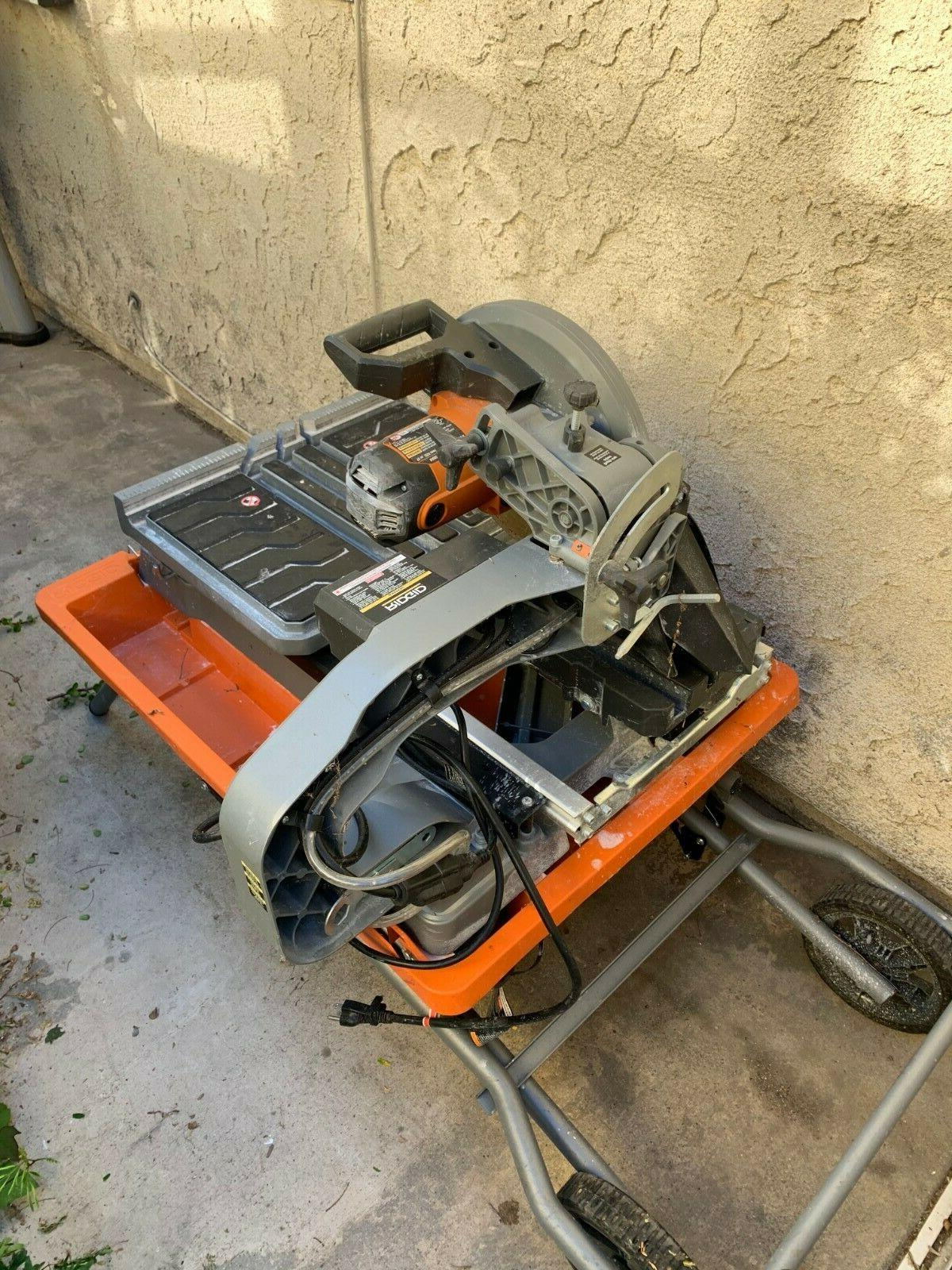 r4092 wet tile saw with stand 10in
