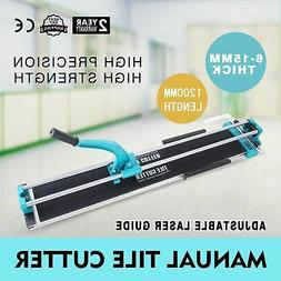 48in Manual Tile Cutter Cutting Machine Steel Industrial Hea