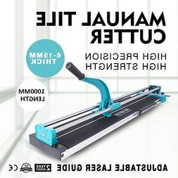 "40"" Manual Tile Cutter Cutting Machine Steel Porcelain Laser"
