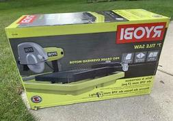Ryobi 7 in. Overhead Wet Tile Saw, WS731, New, MUST PICKUP-N