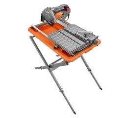 Ridgid 7 in Wet Tile Saw with Stand Corded Electric Aluminum