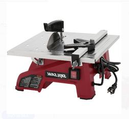 Table Saw Wet Tile Miter Straight Cut Wood  Portable Heavy D