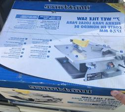 """WorkForce THD550 7"""" Wet Tile Saw NEW SEALED BOX"""