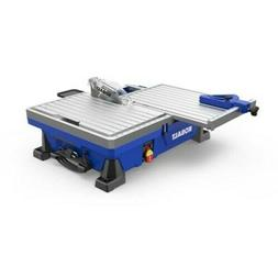 Tile Saw Wet Tabletop Sliding Table Removable Rear Extension