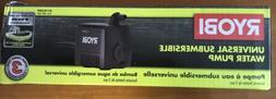 Ryobi Universal Water Pump Wet Saw Blade Filter 40 GPH Subme
