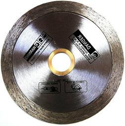 Wet Cutting Continuous Rim Glass Tile Diamond Saw Blade