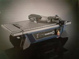 wet tile saw by